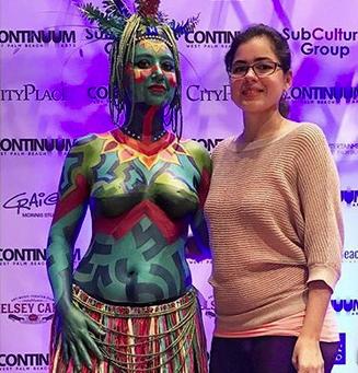 body painting artist